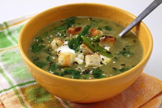 postnuy sup s chechevicey i shpinatom