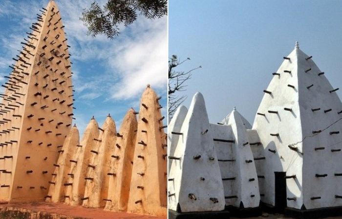 Из глины и бревен: Древние мечети Западной Африки, в которых ничто не отвлекает от молитвы