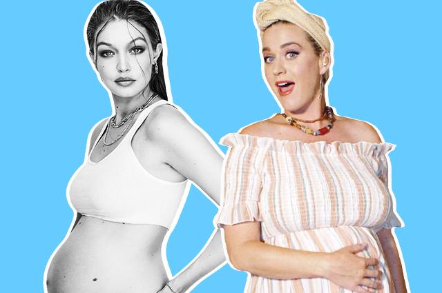 Джиджи Хадид, Кэти Перри, Крисси Тейген и другие звезды, которые объявили о беременности во время карантина Звездные дети