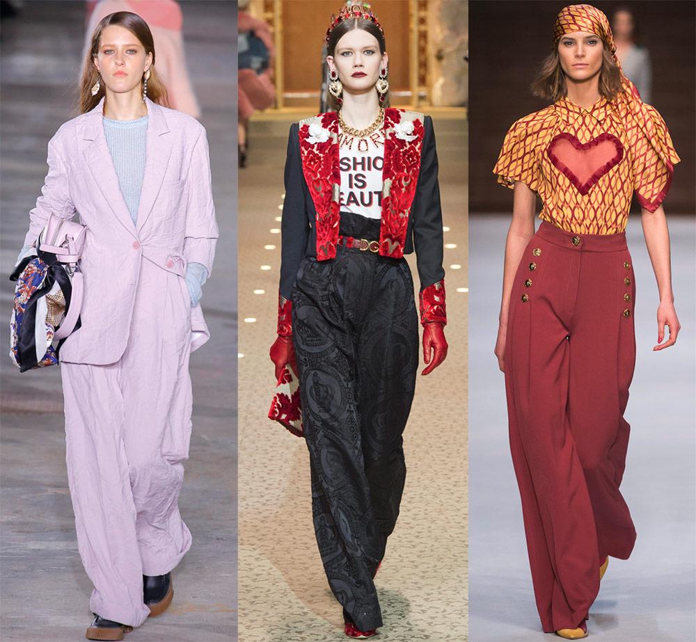 Брюки 2018-2019 — самые модные и красивые модели
