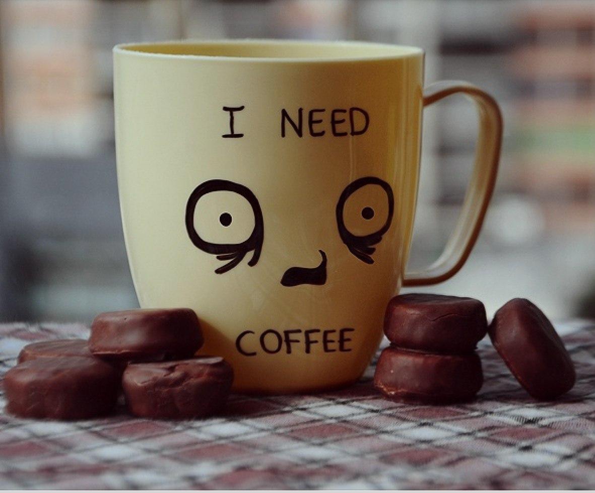Смешные рисунки о кофе, марта рисунок своими