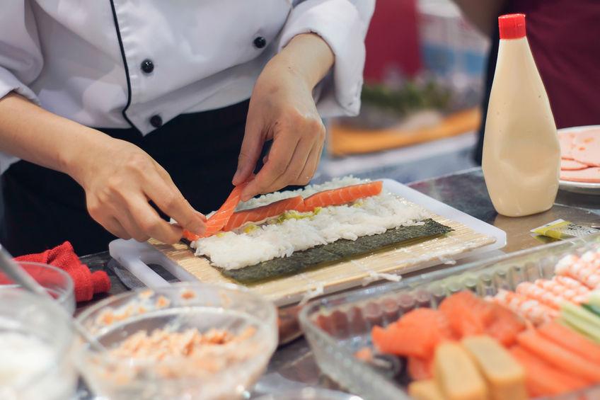 В США приготовили самые длинные суши