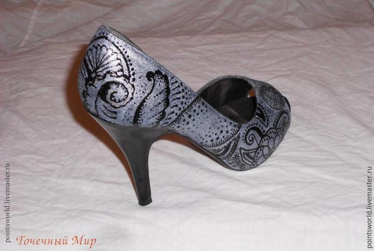 украшение туфель