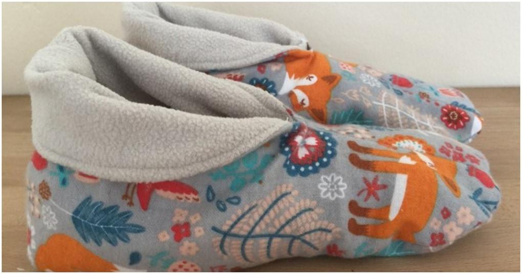 Мягкие и уютные тапочки из флиса с подкладкой