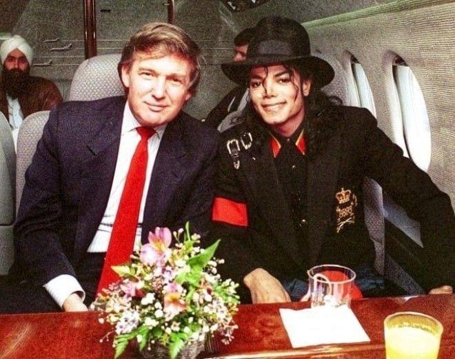 Майкл Джексон и Дональд Трамп на частном самолете, 1980 год история, факты, фото