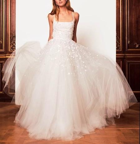 Оскар де ла Рента осень-зима 2018-2019 — свадебная мода для современных модниц