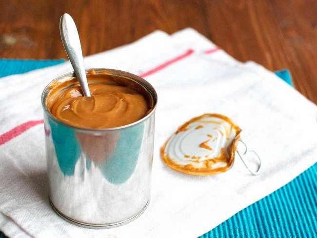 Заварной крем с вареной сгущенкой: рецепт приготовления