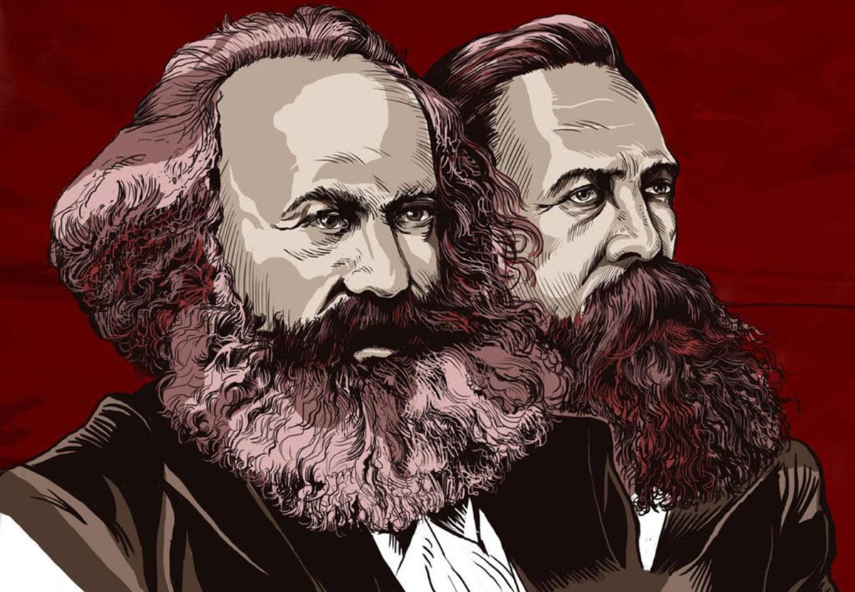 картинки карла маркса и фридриха энгельса