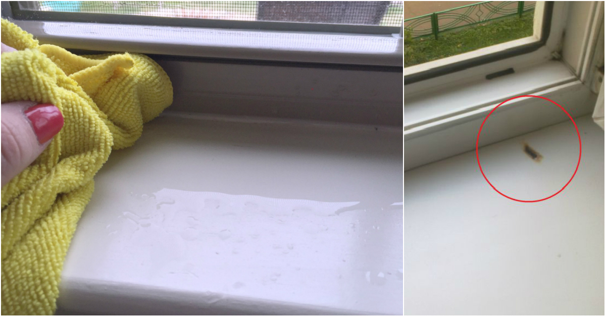 Картинки по запросу Как отмыть пластиковый подоконник