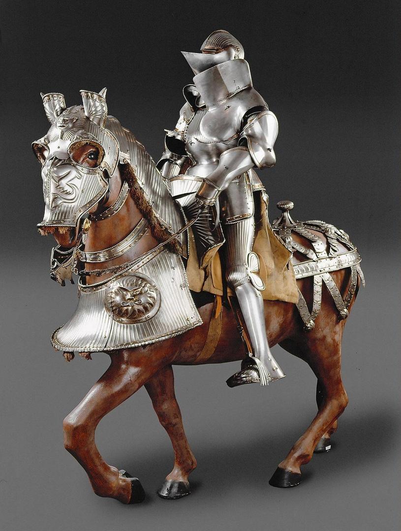 Реальные рыцарские доспехи императора Фердинанда I, 1526 г.