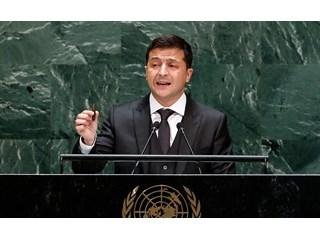 Историческая речь президента Зе в ООН, или как запустили юмориста на трибуну украина