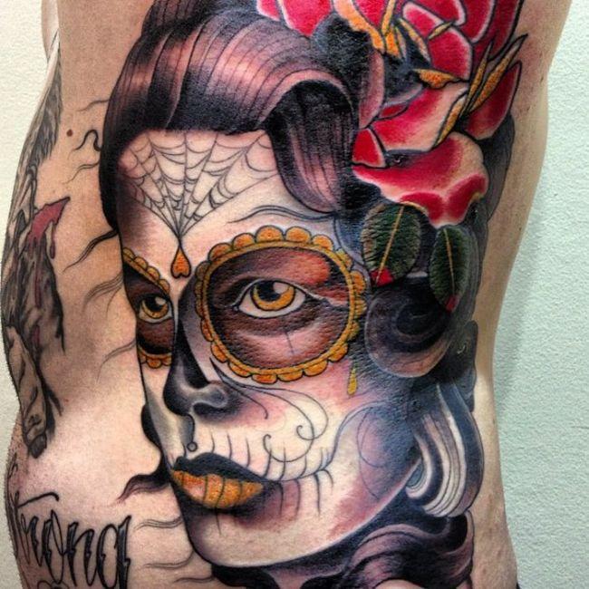 Искусство татуировки,  работы мастера Stu Pagdin