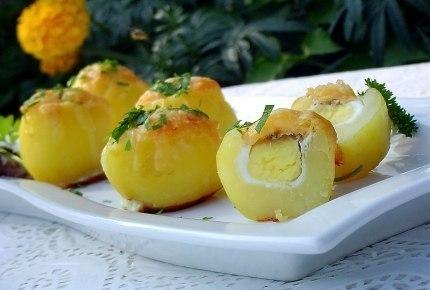 Запеченный картофель Сюрприз.