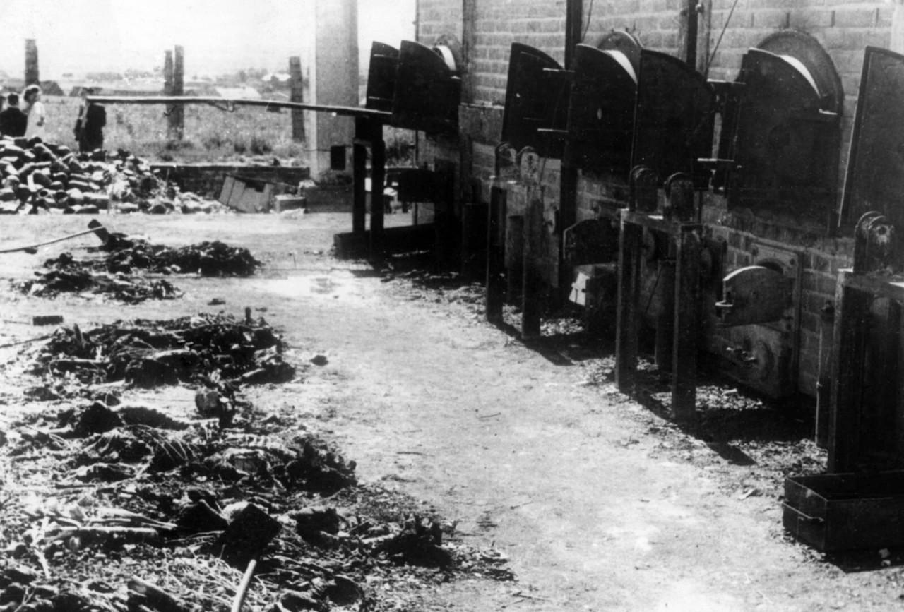 Кремационные печи, февраль 1945 года аушвиц, вторая мировая война, день памяти, конц.лагерь, концентрационный лагерь, освенцим, узники, холокост
