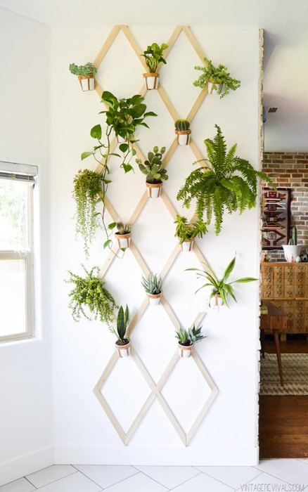Украшаем пустые стены: 10 идей для самых смелых декор стен своими руками