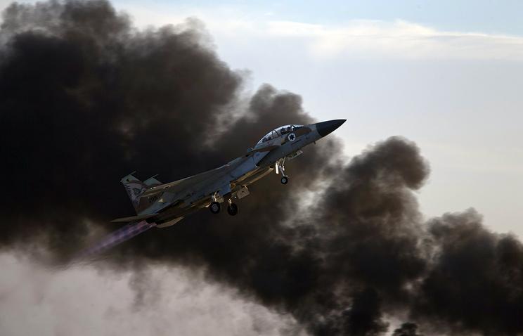 СРОЧНО: Израильские ВВС нане…