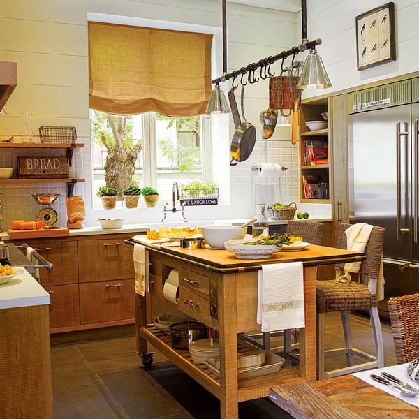 Кухня в стиле рустик для городской квартиры: секреты вкуса и комфорта