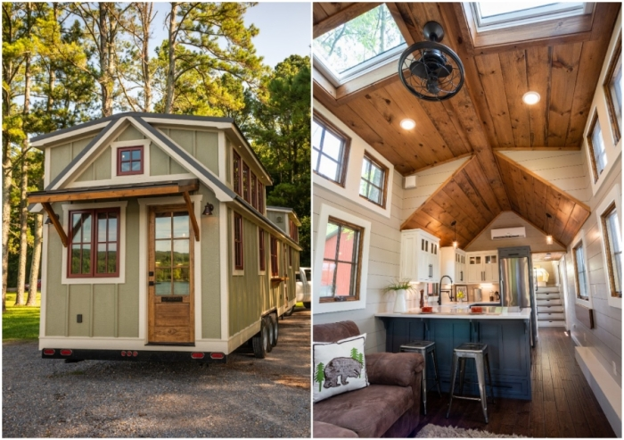 5 крошечных домов, которые превратили в мобильные квартиры со всеми удобствами
