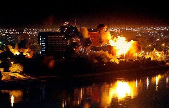 НАТО бомбило Югославию ради защиты мирных жителей