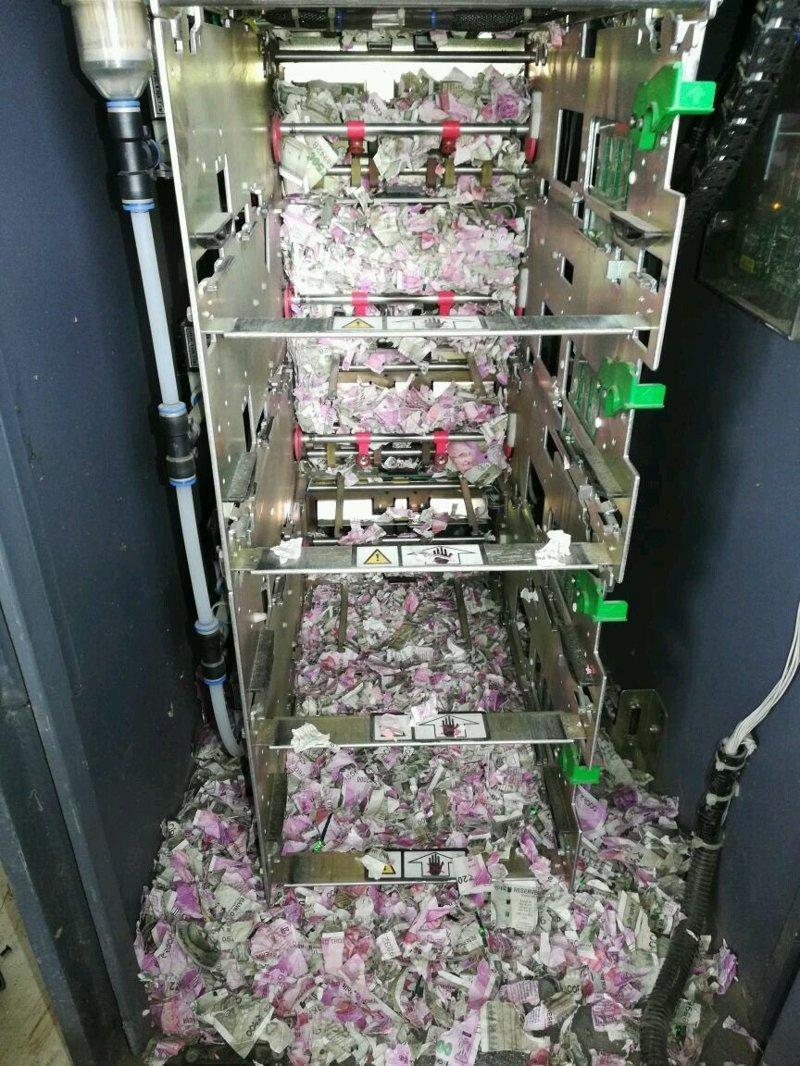 В Индии крысы уничтожили более миллиона рупий в банкомате
