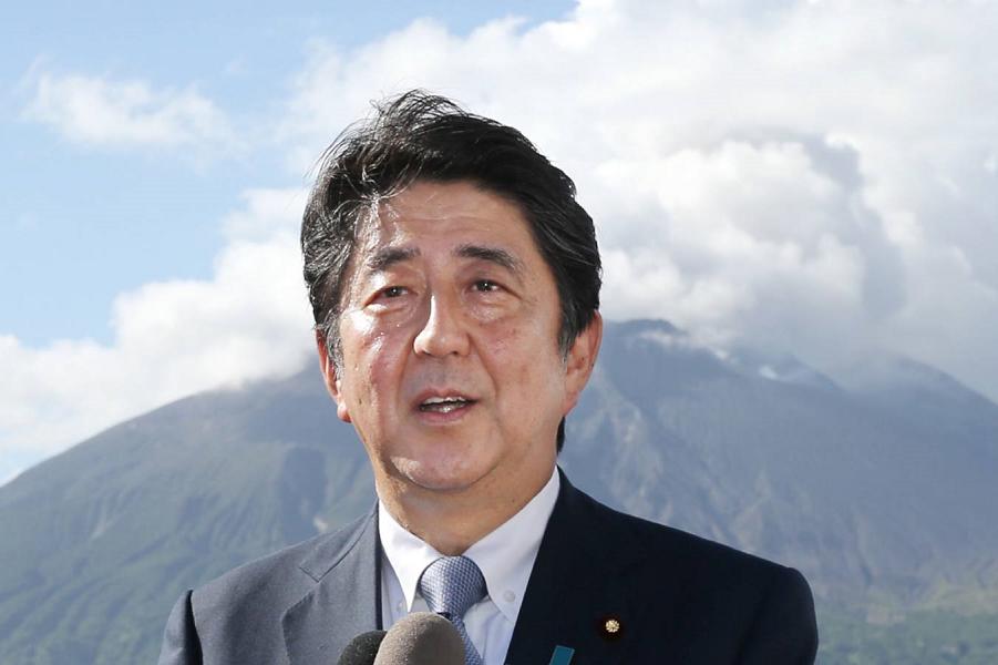 Премьер Японии Синдзо Абэ.png