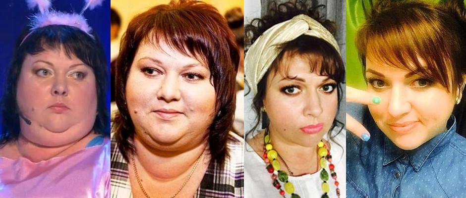 Фото картунковой до и после похудения