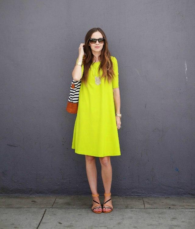 Идеальное летнее платье свободного покроя