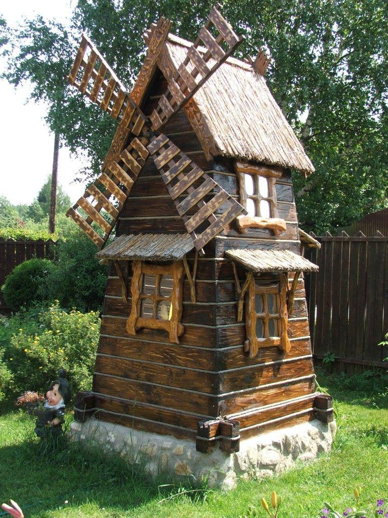 что декоративные домики для сада фото залов сочетают себе