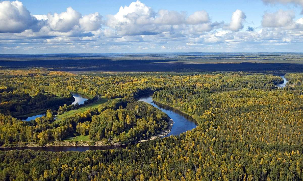 Аномальные зоны Новосибирской области