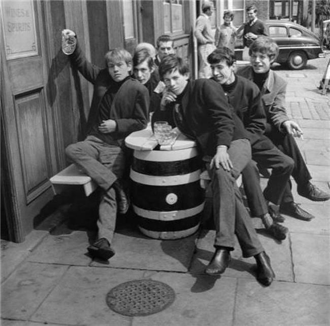 Группа The Rolling Stones в 1963 году
