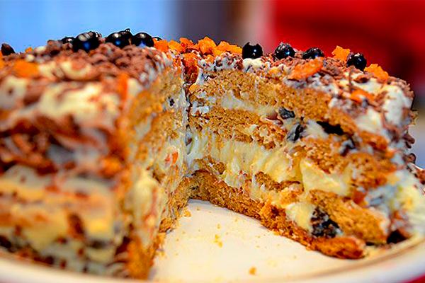 Шикарный домашний торт «Трухлявый пень». из самых простых продуктов!