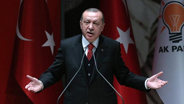 Эрдоган обвинил США в попытк…