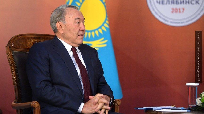 Президент Казахстана пожелал Владимиру Путину удачи на выборах-2018