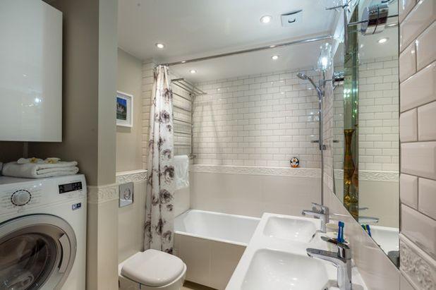 Современный Ванная комната by Buro Brainstoorm