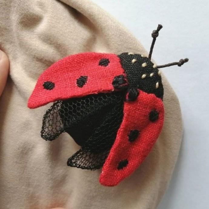 Милые текстильные броши идеи и вдохновение,рукоделие