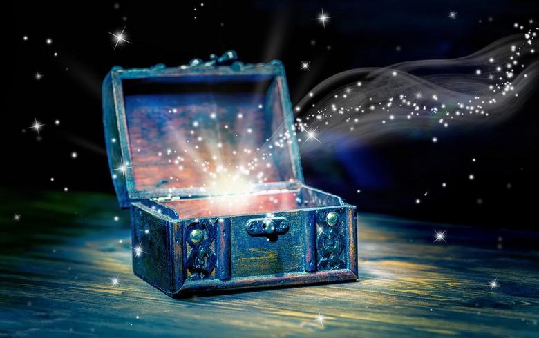 Мистическая открытка, до неу…