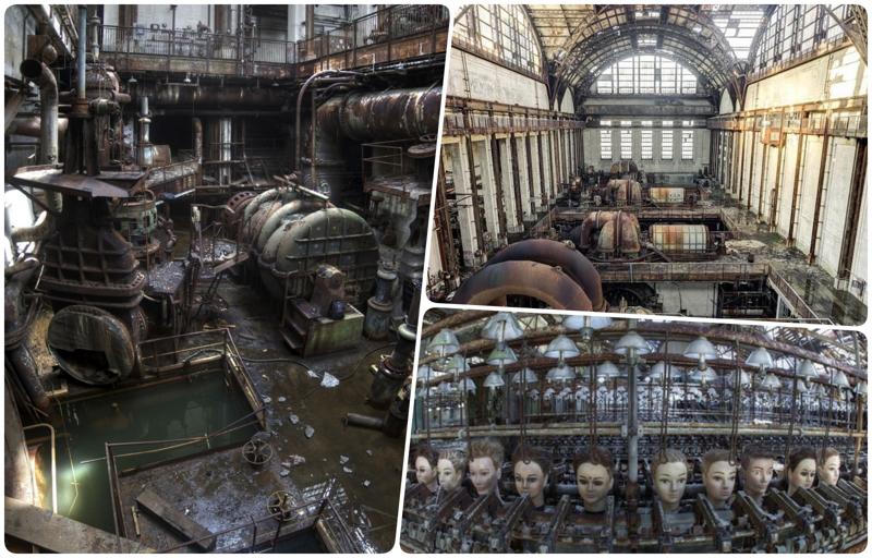 Внутри заброшенной промышленности: уникальные кадры с заводов бомбоубежище, заброшки, индастриал, интересно, фото