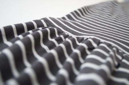 Сборки на ткани с помощью зубной нити