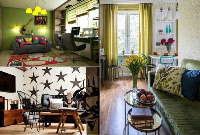 17 актуальных идей для гостиной, которые подойдут хрущёвкам или панелькам