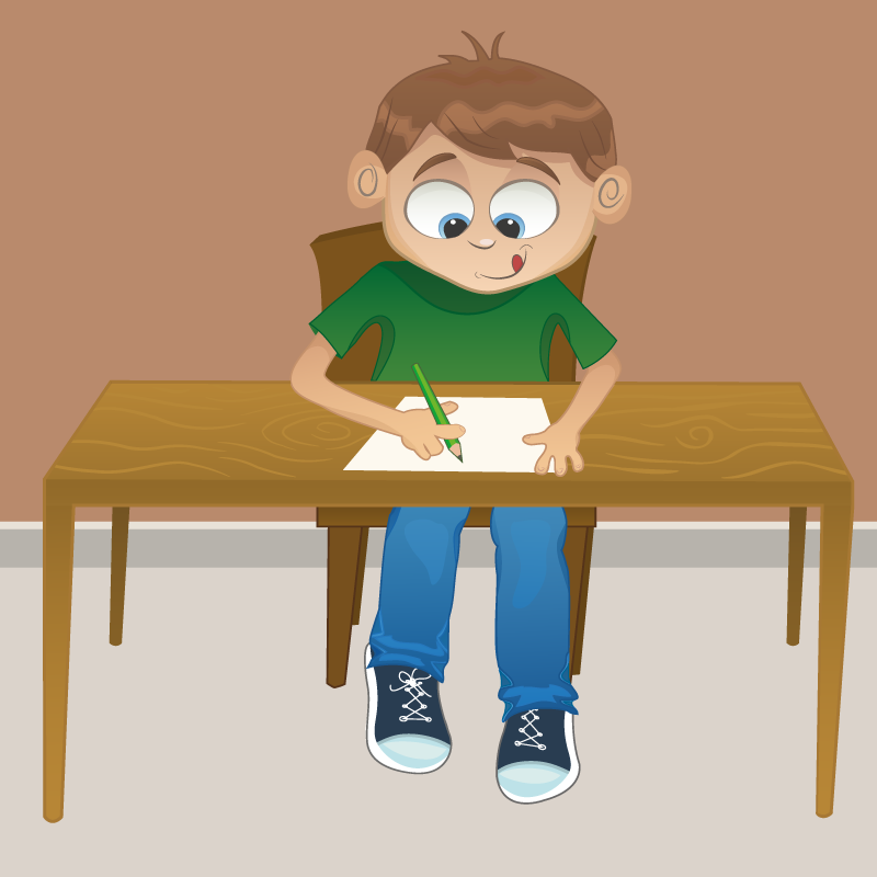 Анекдот про то, как дети вклассе писали сочинение овласти