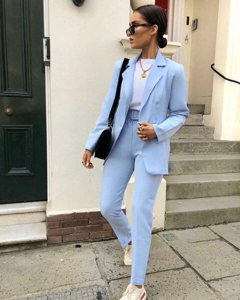 Стильная практичность: осенние образы в стиле кэжуал 2019 года гардероб,мода,мода и красота,модные тенденции,стиль