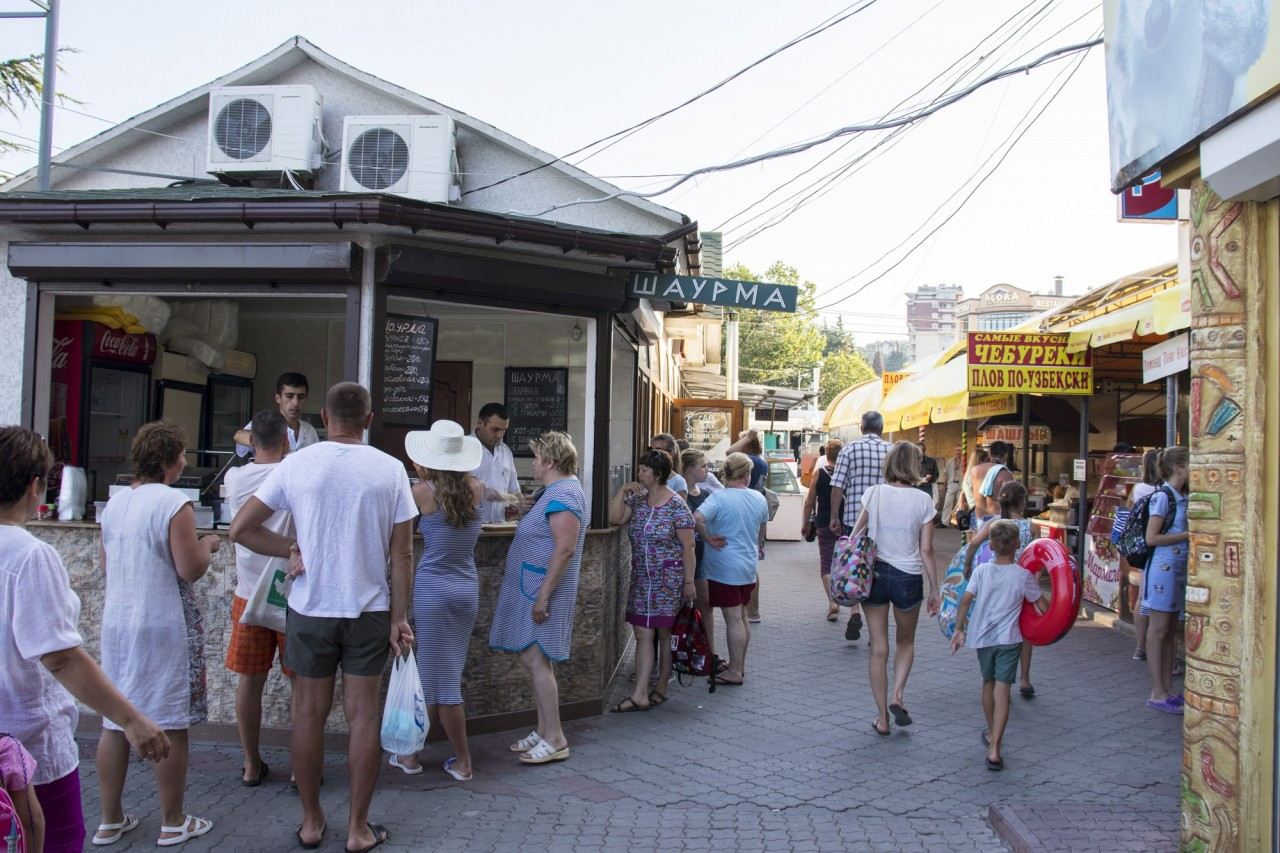Лучшая шаурма Алушты, а может и всего Крыма
