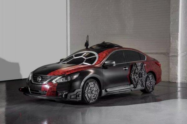 Бренд Nissan выпустил авто в стиле истребителя из «Звездных войн»