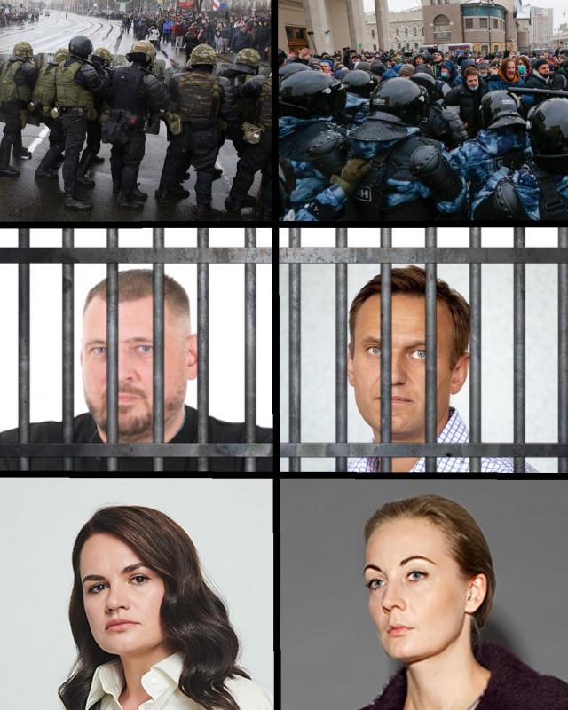Тихановская призвала Навальную встать на место мужа