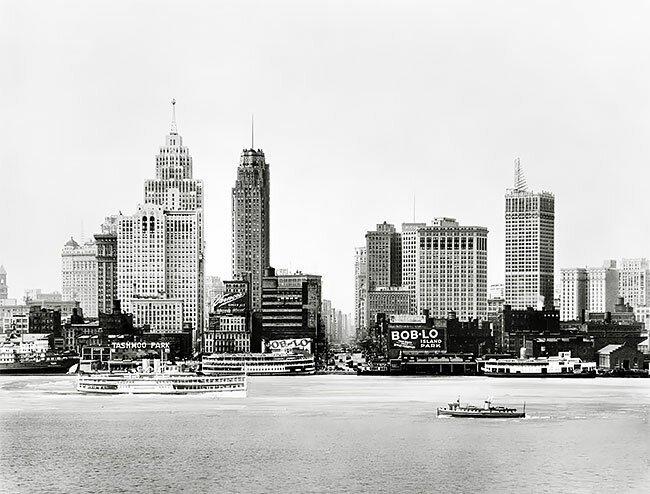 Вид на озеро в Детройте, США, 1910-1930 интересно, исторические кадры, исторические фото, история, ретро фото, старые фото, фото