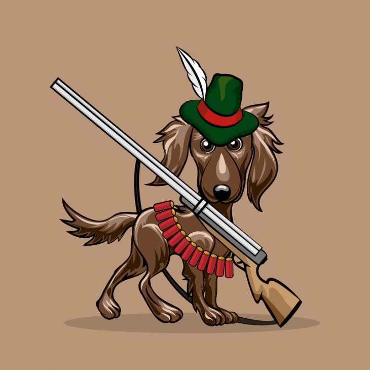 Анекдот про трёх охотников, хваставшихся своими собаками