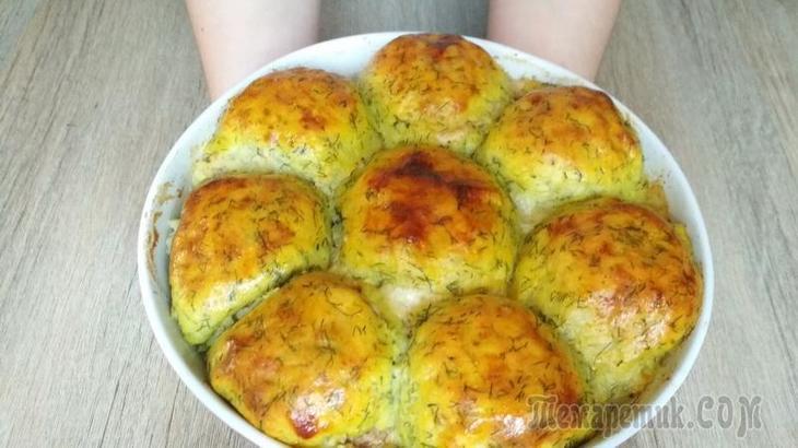Горячее блюдо для всей семьи - картофель с мясом и сыром!