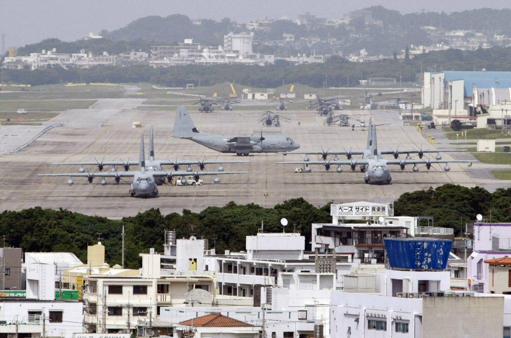 Американская военная база в Японии. Источник изображения: https://vk.com/denis_siniy