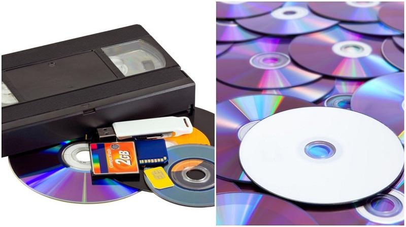 Нашел стопку старых дисков — начинай творить! Какая удача, что не выбросил…