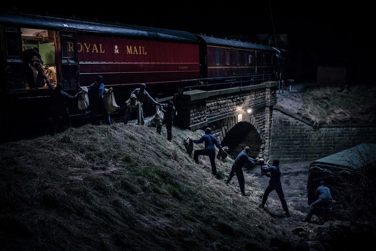 5 самых лихих ограблений поездов в истории интересное,интересные люди,интересные факты,история,шок